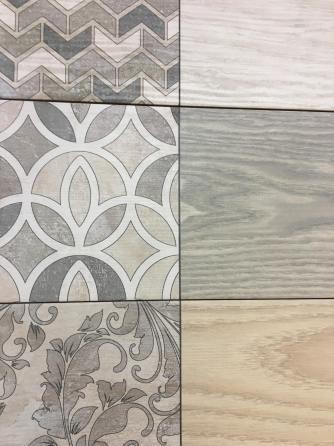 Decorative wood-look tiles from Acuasor 2020