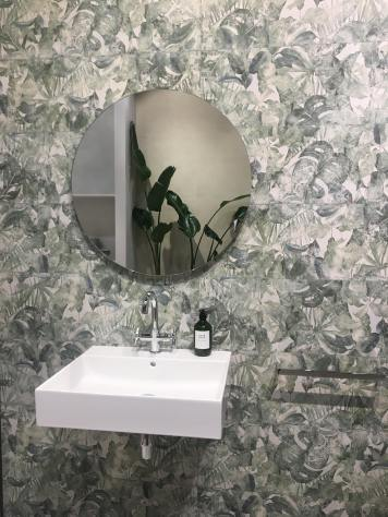 Jungle print tiles from Roca