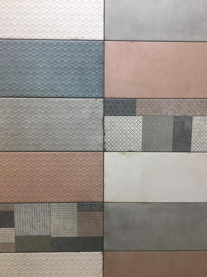 Clash Dec Cold and Warm from Rocersa tile trends 2020