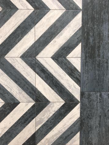 Cassis-Sete Dark/Black from Codicer tile trend 2020