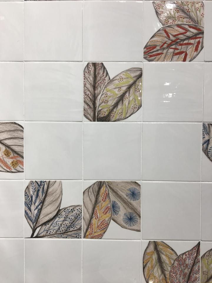Berlin from Dune floral tile trend 2020