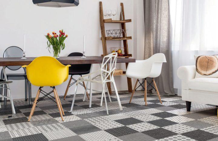 Cuadrado Milano from Atrivm grey tile trend 2020